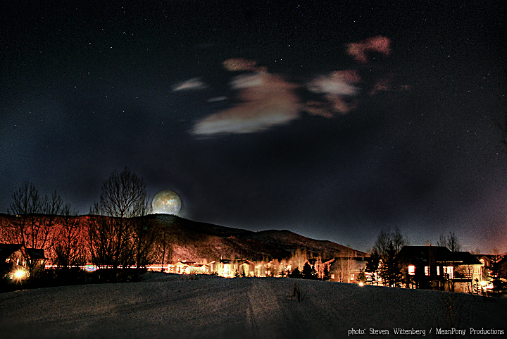 Moon Rise | Summit County, Utah